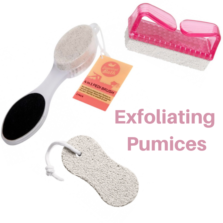 Exfoliating Pumices