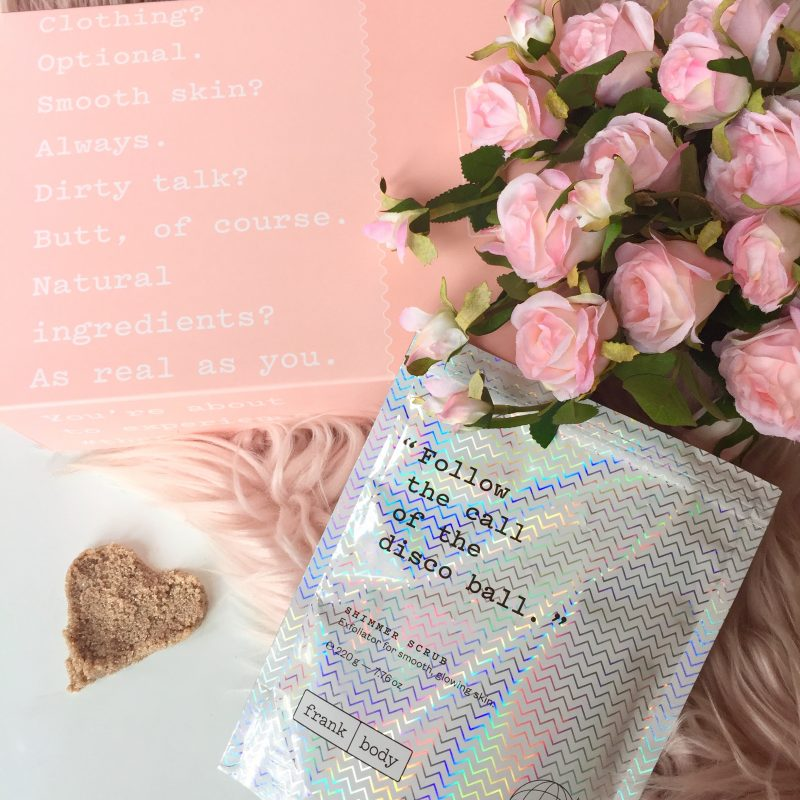 Frank Body Shimmer Scrub Review