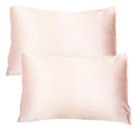 The Goodnight Co Pink Silk Pillowcase