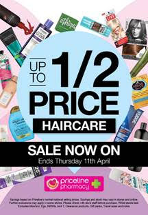 Priceline Hair Sale