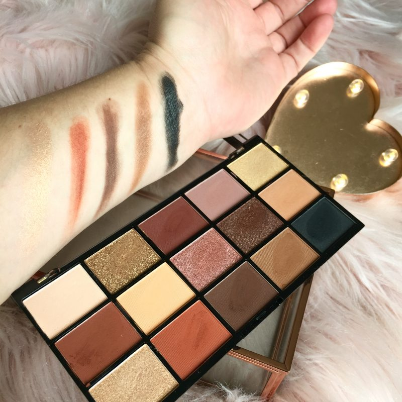 Revolution Re-Loaded Palette Bottom Row Shades