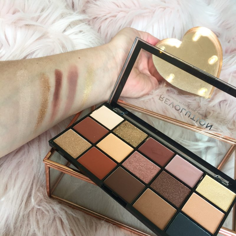 Revolution Re-Loaded Palette Top Row Shades