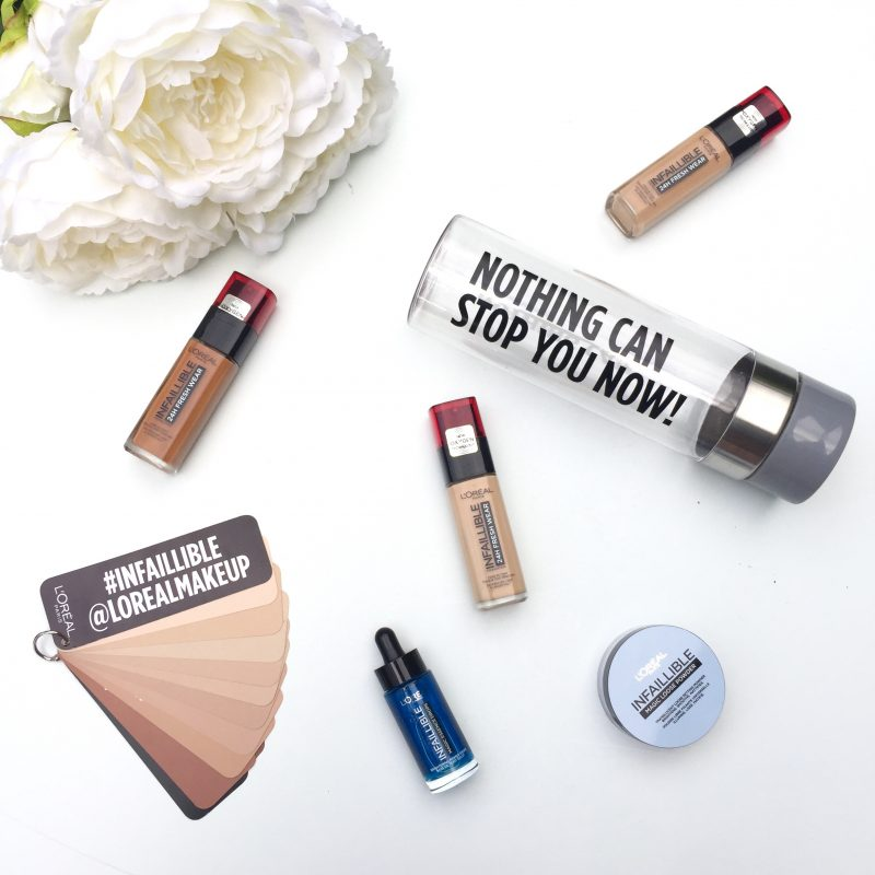 L'Oreal Infaillible Foundation Review