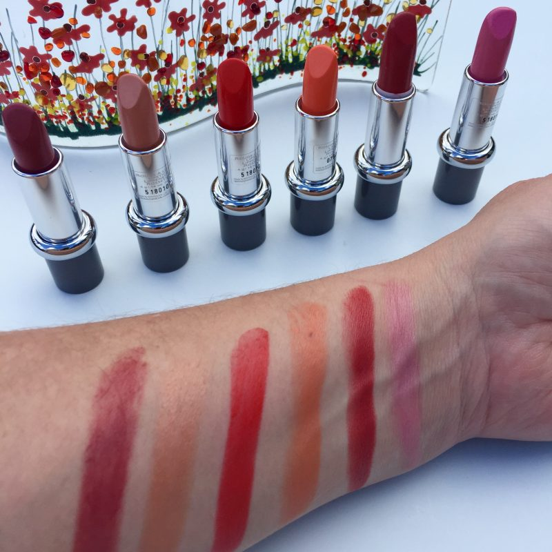 Mavala Lipstick Swatches Sunlight Collection
