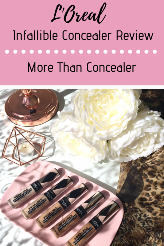 L'Oreal Infallible Concealer Review