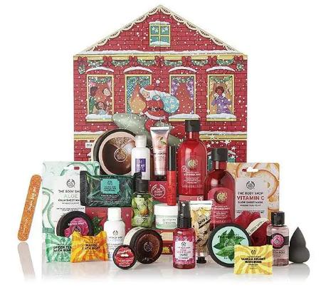 The Body Shop Deluxe Advent Calendar
