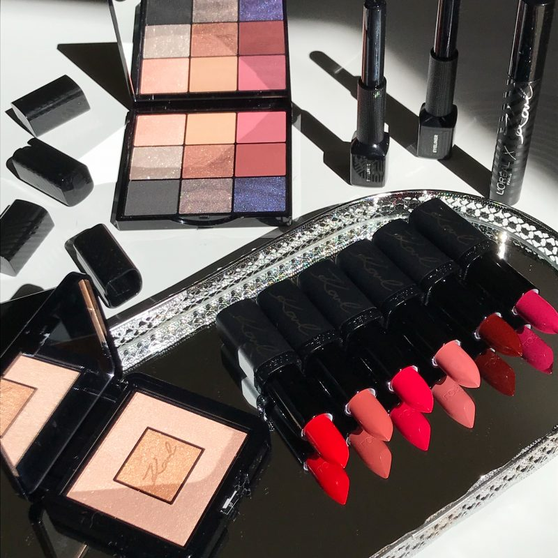 Karl Lagerfeld x L'Oreal Paris Makeup Reviews