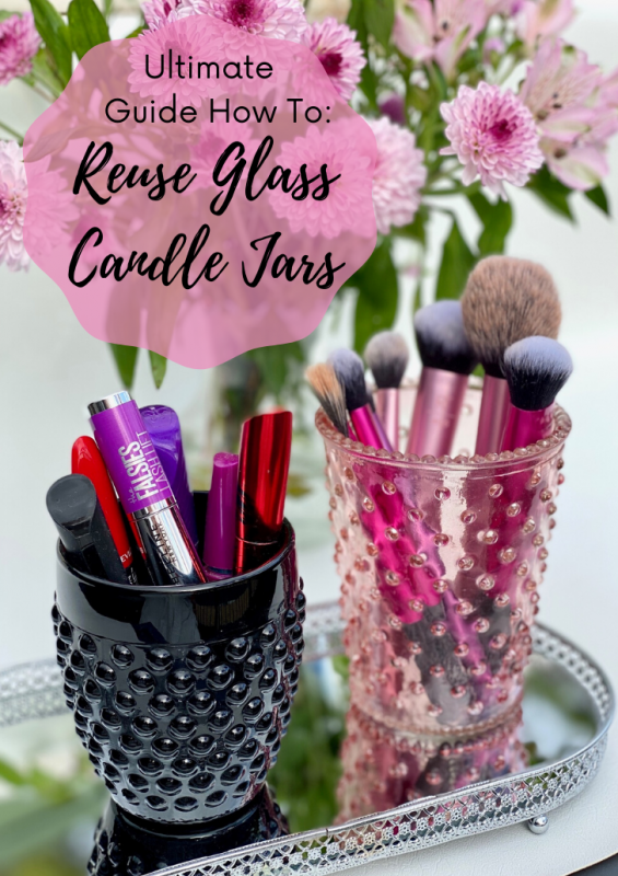 How To Reuse Glass Candle Jars