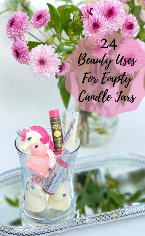 Empty Candle Jar Uses - Lip Balms