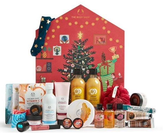 The Body Shop Make It Real Together Big Beauty Advent Calendar