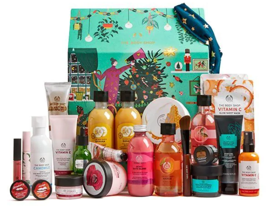 The Body Shop Make It Real Together Ultimate Beauty Advent Calendar