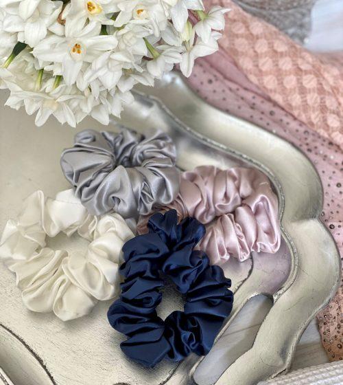 Beautysilks Silk Scrunchies